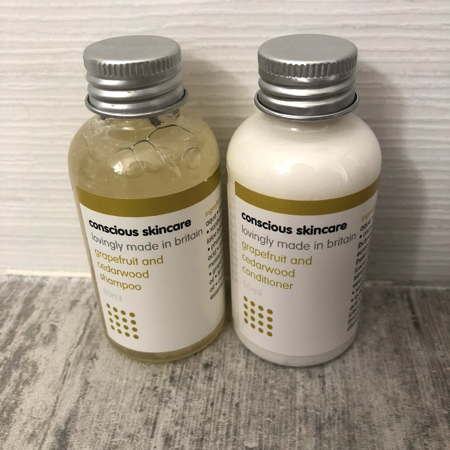Conscious Skincare - Shampoo and conditioner