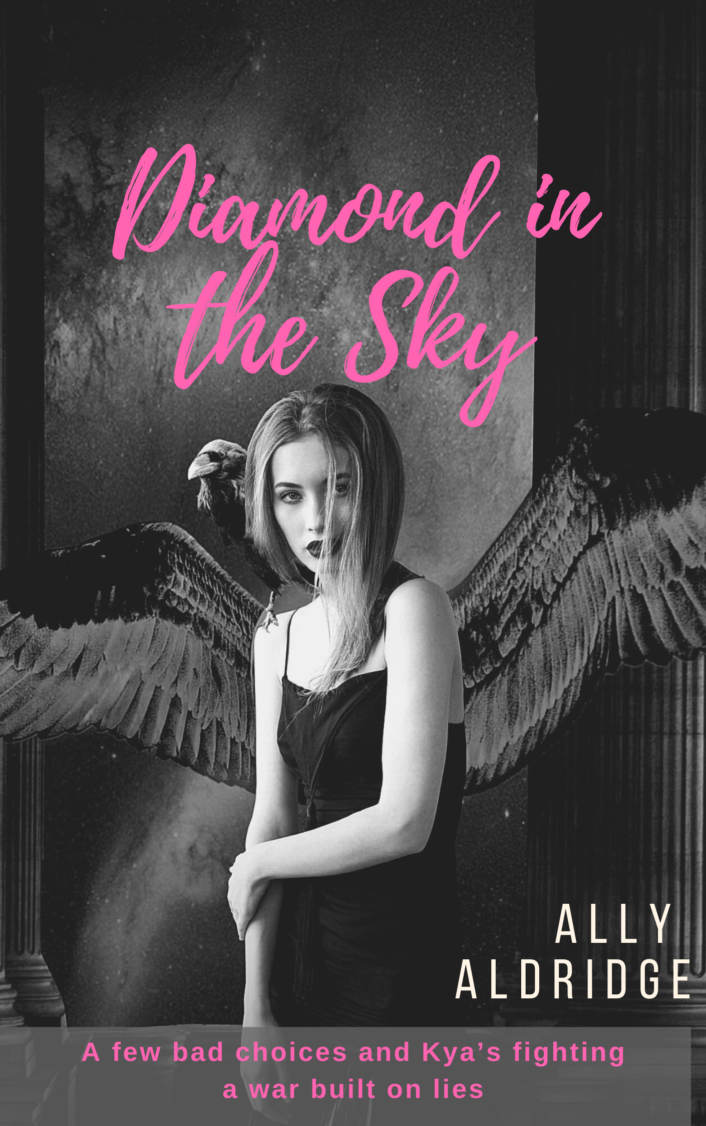 Book cover for Diamond in the Sky by Ally Aldridge.